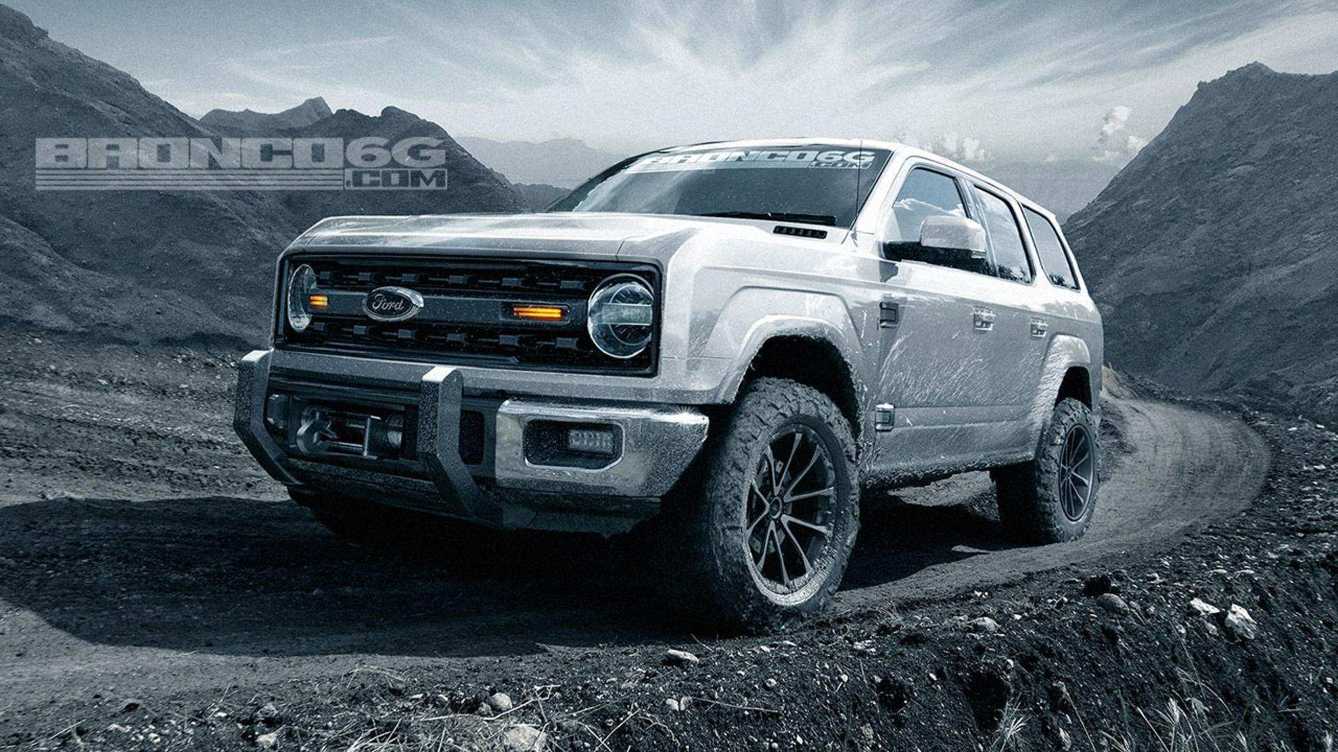 66 All New 2020 Ford Bronco Design Wallpaper