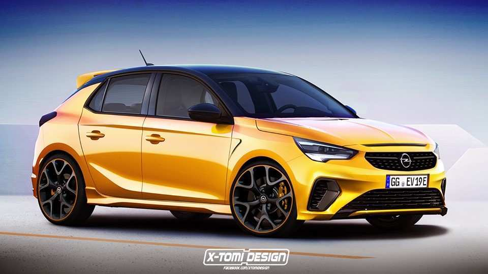66 All New Opel Corsa 2020 Rendering Review And Release Date