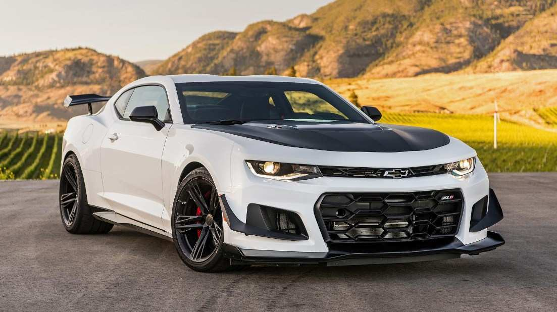 67 A 2020 Chevrolet Camaro Zl1 Pictures