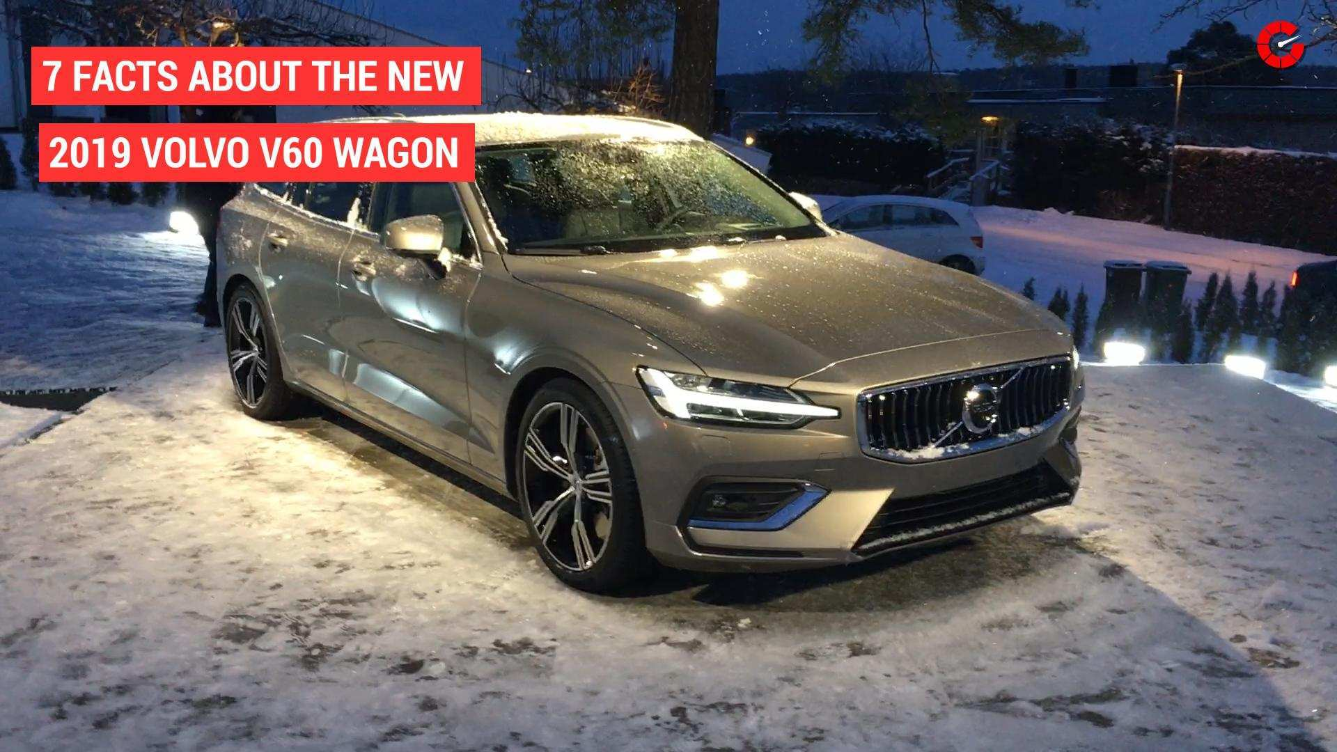67 All New New 2019 Volvo V60 Reviews