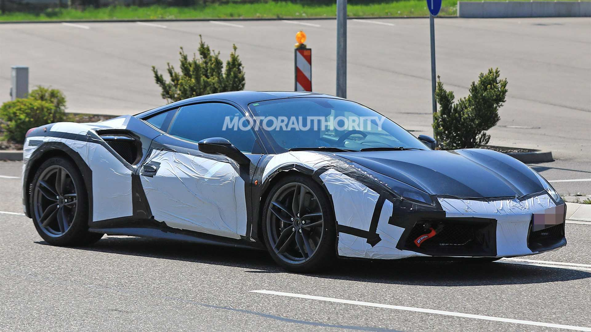 68 A 2019 Ferrari 588 Engine