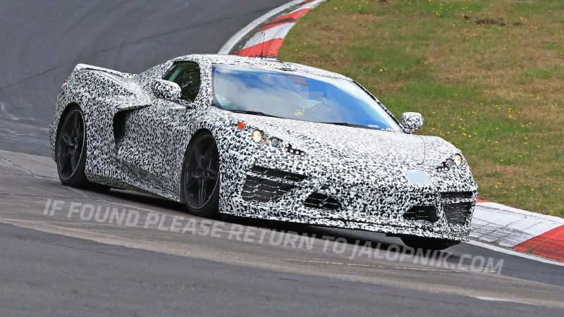 68 A 2020 Chevrolet Corvette Mid Engine Photos