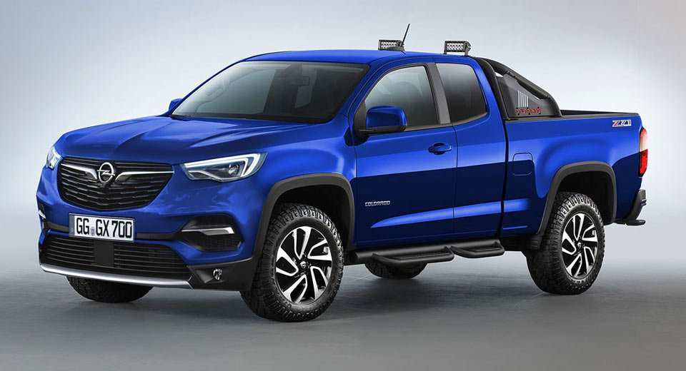 68 Best Opel Colorado 2019 Redesign And Review