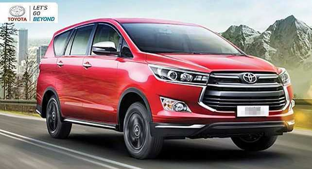 68 Best Toyota Innova Crysta Facelift 2020 New Model And Performance