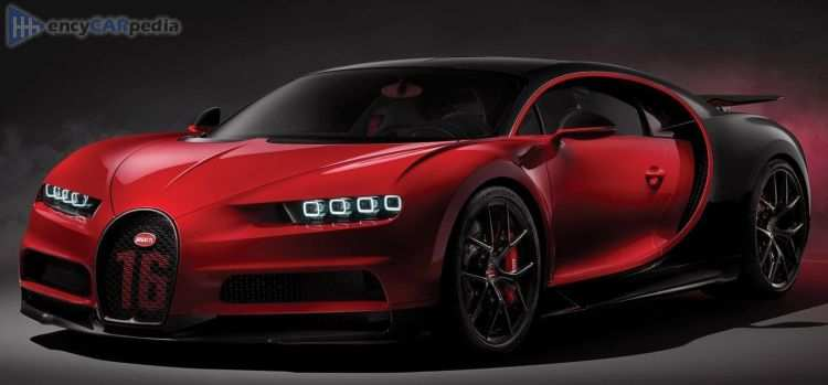 69 A 2019 Bugatti Chiron Sport Top Speed Photos