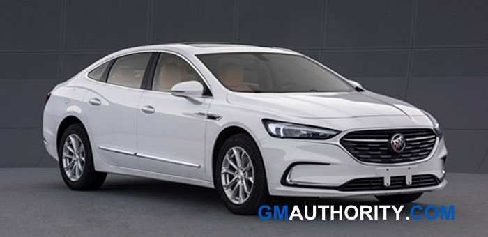 69 A 2020 Buick Lacrosse Refresh Spy Shoot