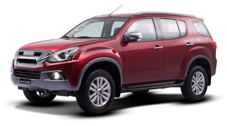 69 The Best 2019 Isuzu Mu X Interior
