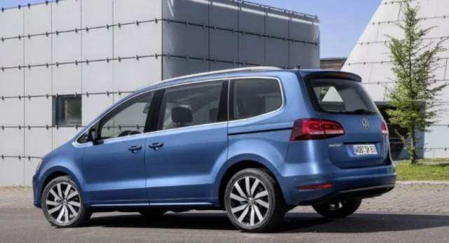 70 The Volkswagen Sharan 2020 First Drive