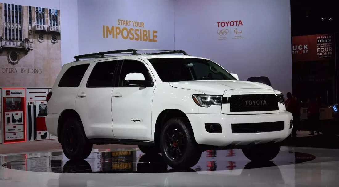 71 A 2020 Toyota Sequoia Spy Photos Price Design And Review