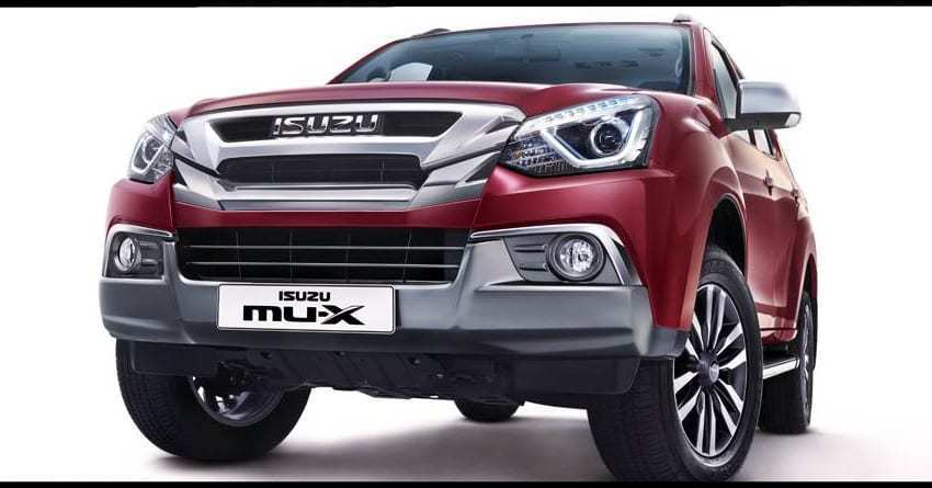 71 New 2019 Isuzu Mu X Release Date And Concept