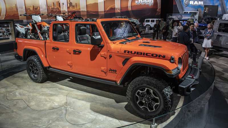 71 The 2020 Jeep Gladiator Color Options Specs