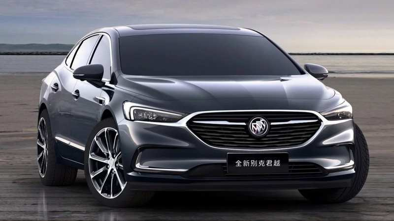 72 A 2020 Buick Lacrosse China Research New