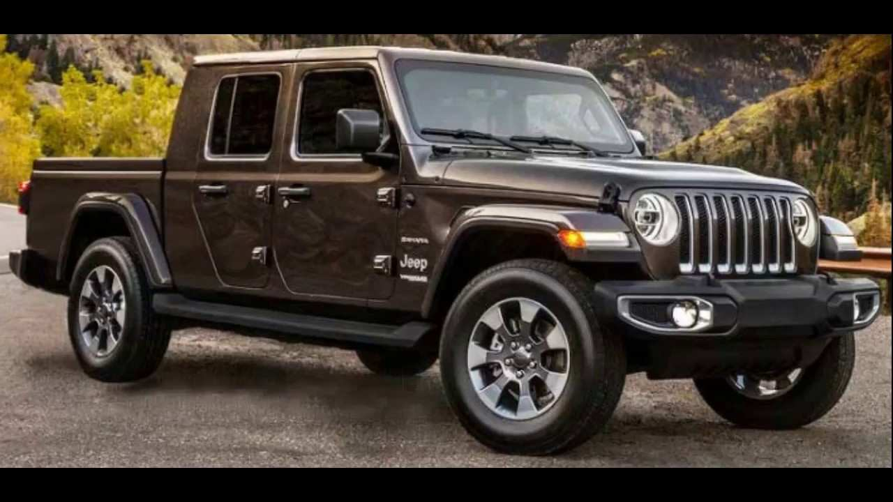 72 New 2019 Jeep 4 Door Truck Redesign And Review
