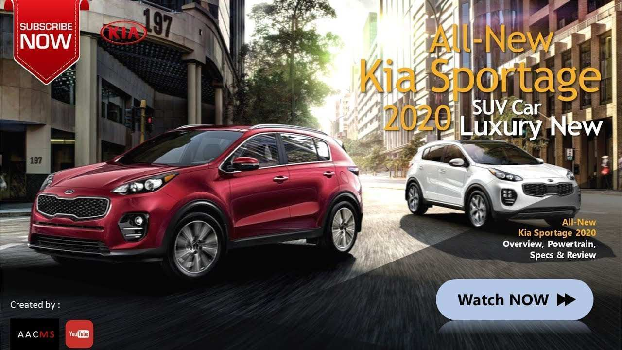 72 The Kia Sportage 2020 Youtube Price Design And Review