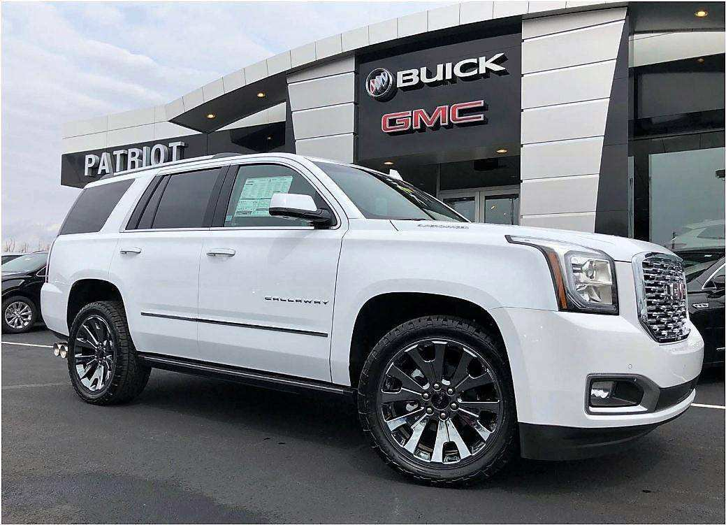 73 A 2019 Gmc Yukon Wallpaper