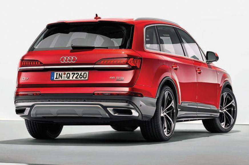 73 All New 2019 Audi Q7 Facelift Review And Release Date