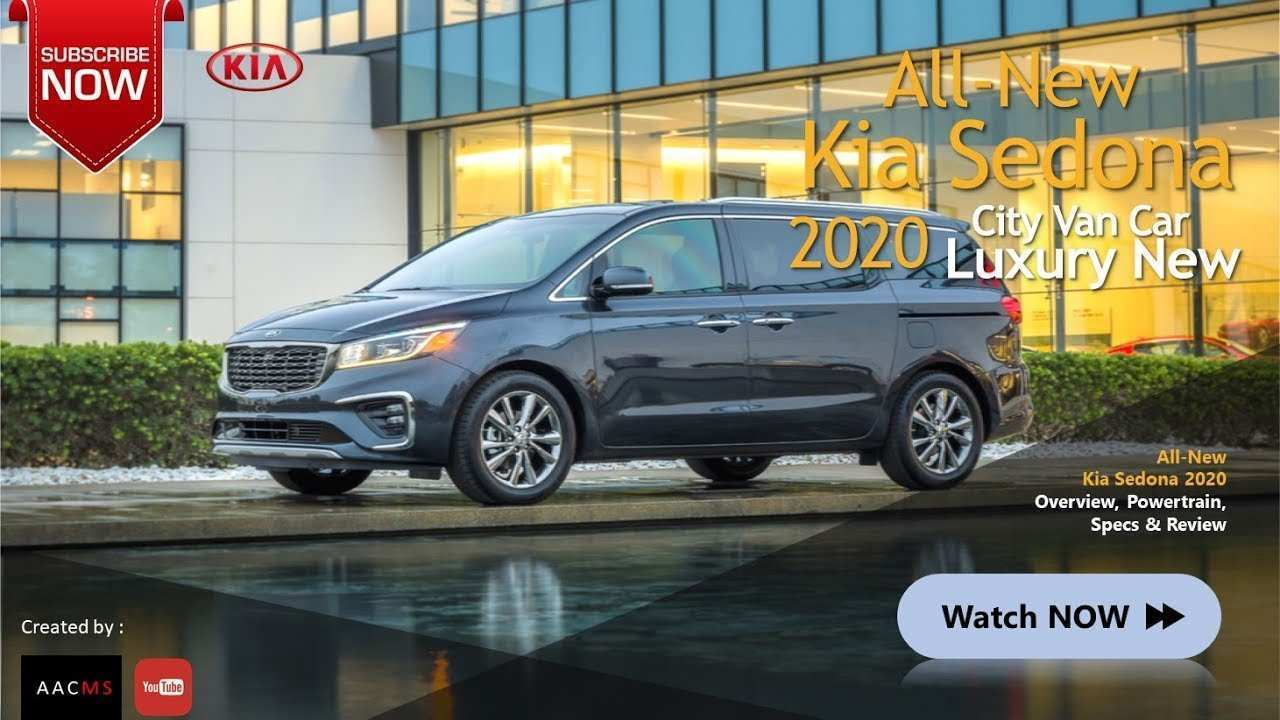73 All New 2020 Kia Sedona Release Date Pictures