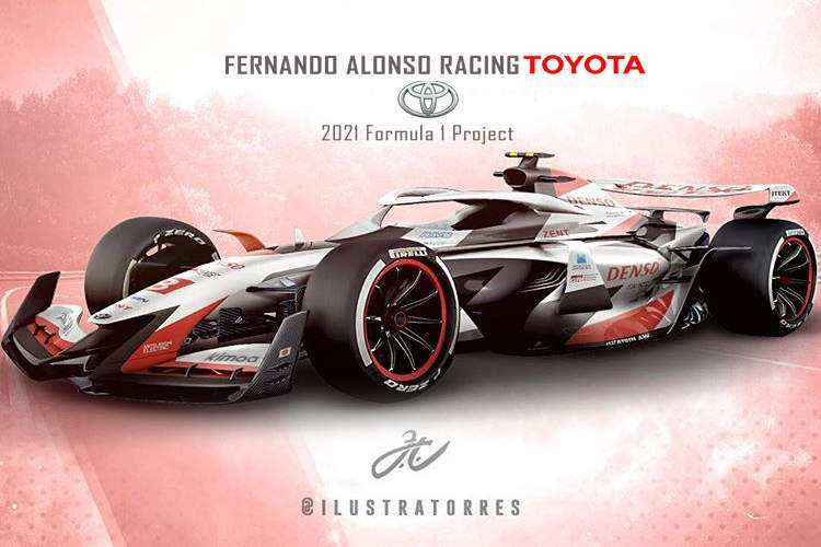 73 All New Toyota F1 2020 New Concept