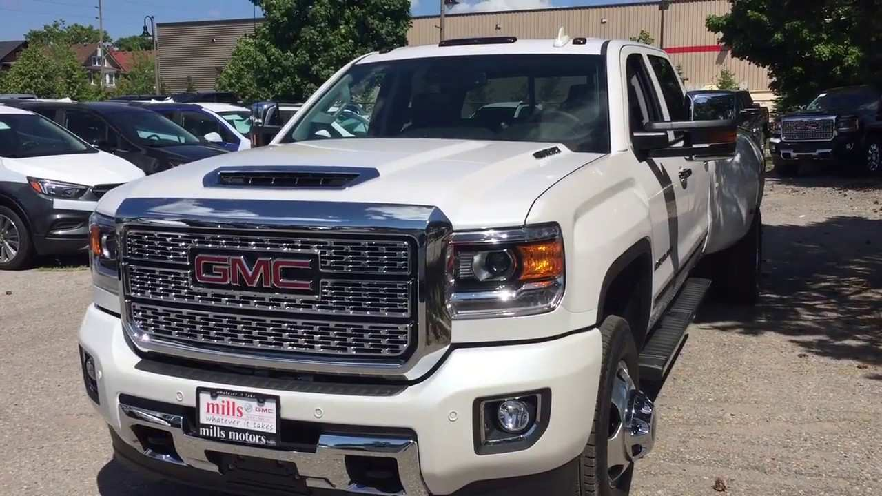 73 The Best 2019 Gmc 3500 Duramax Spesification