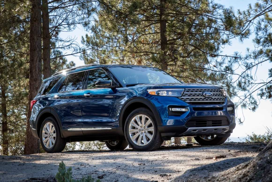 74 A Ford Unveils The New 2020 Explorer History