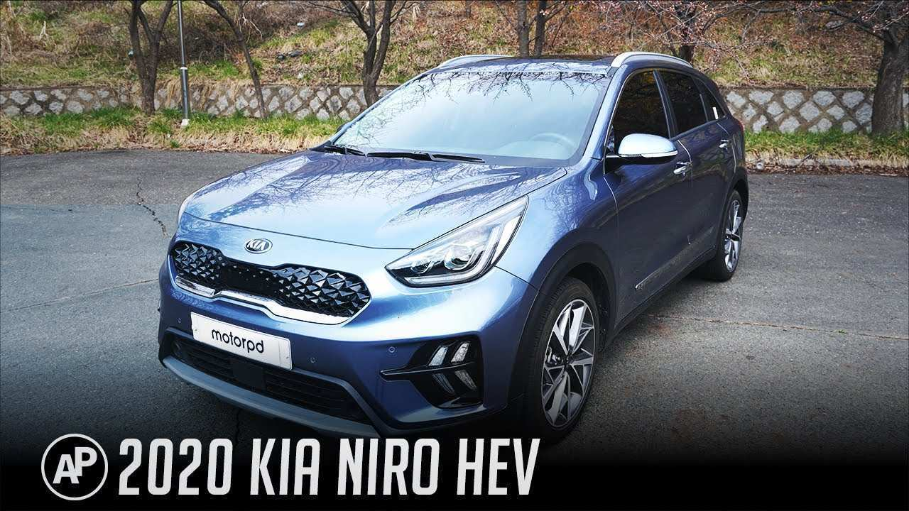 74 A Kia Niro 2020 Spy Shoot