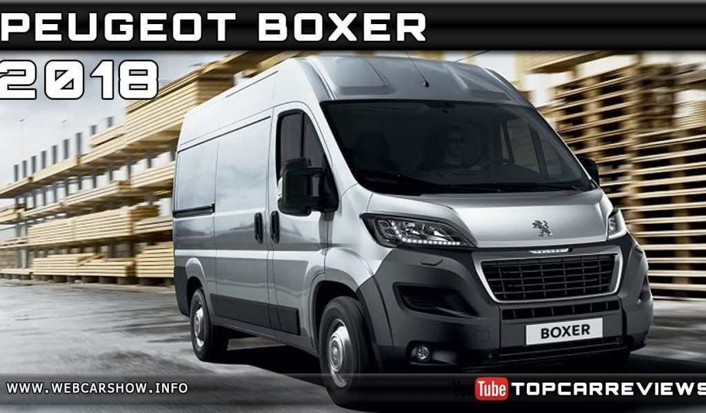 74 Best Peugeot Boxer 2020 New Concept