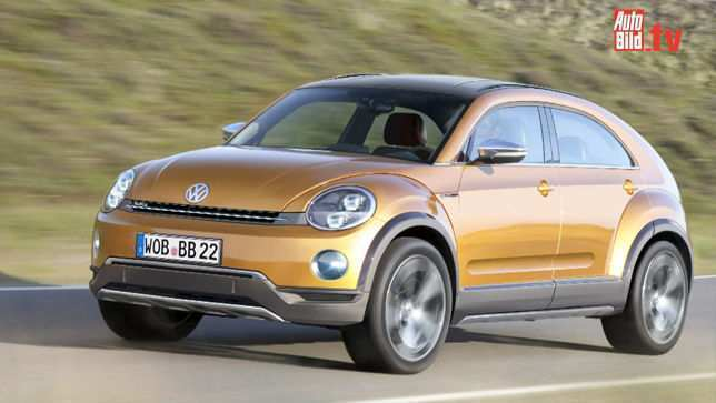 74 New 2019 Volkswagen Beetle Suv Spy Shoot