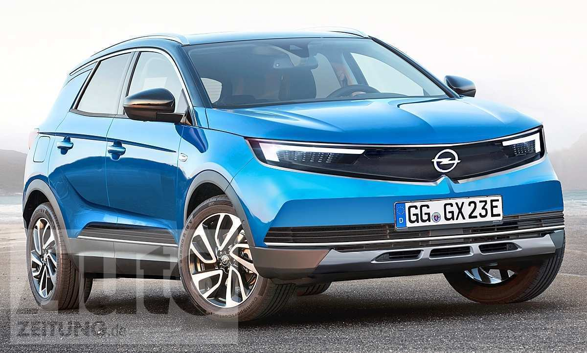 74 The New Opel Mokka X 2020 Pictures