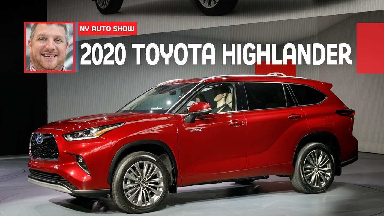 75 All New Toyota Kluger 2020 Model First Drive
