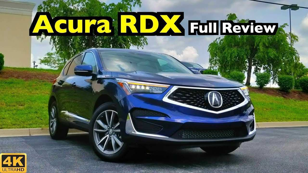 75 The Acura Rdx 2020 Review Price Design And Review