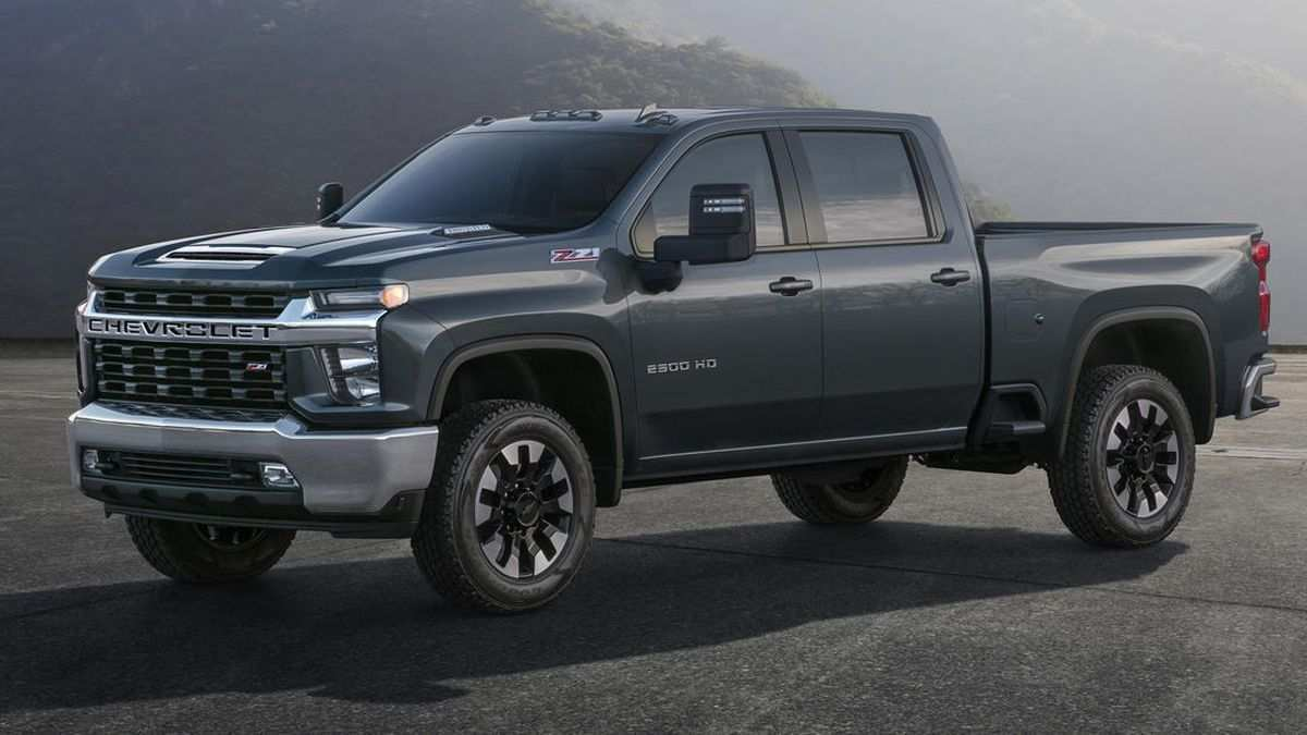 75 The Best 2020 Chevrolet 2500 Ugly Concept