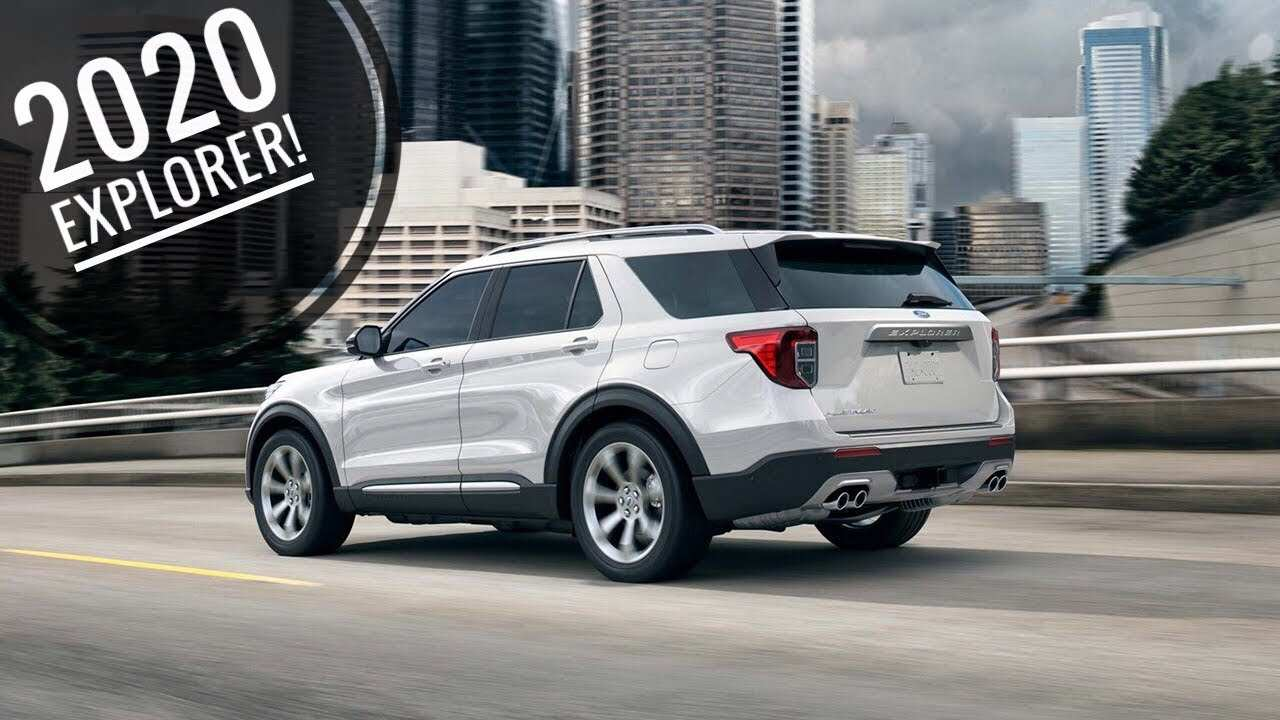 75 The Best 2020 Ford Explorer Youtube Pricing