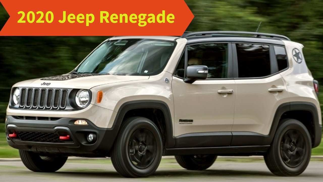 76 All New Jeep Renegade 2020 Redesign