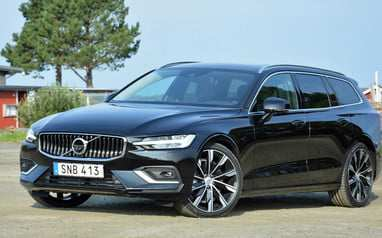 76 All New New 2019 Volvo V60 Model