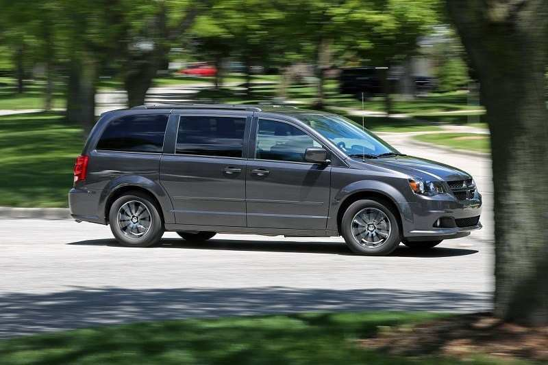 76 The Dodge Grand Caravan 2020 Spy Shoot