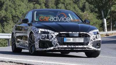 77 A Audi A5 Facelift 2020 Speed Test