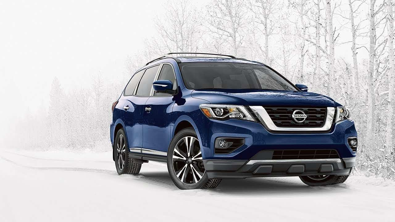 77 All New 2019 Nissan Pathfinder Spy Shots Concept