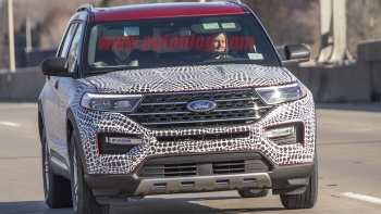 77 New Ford Unveils The New 2020 Explorer Exterior