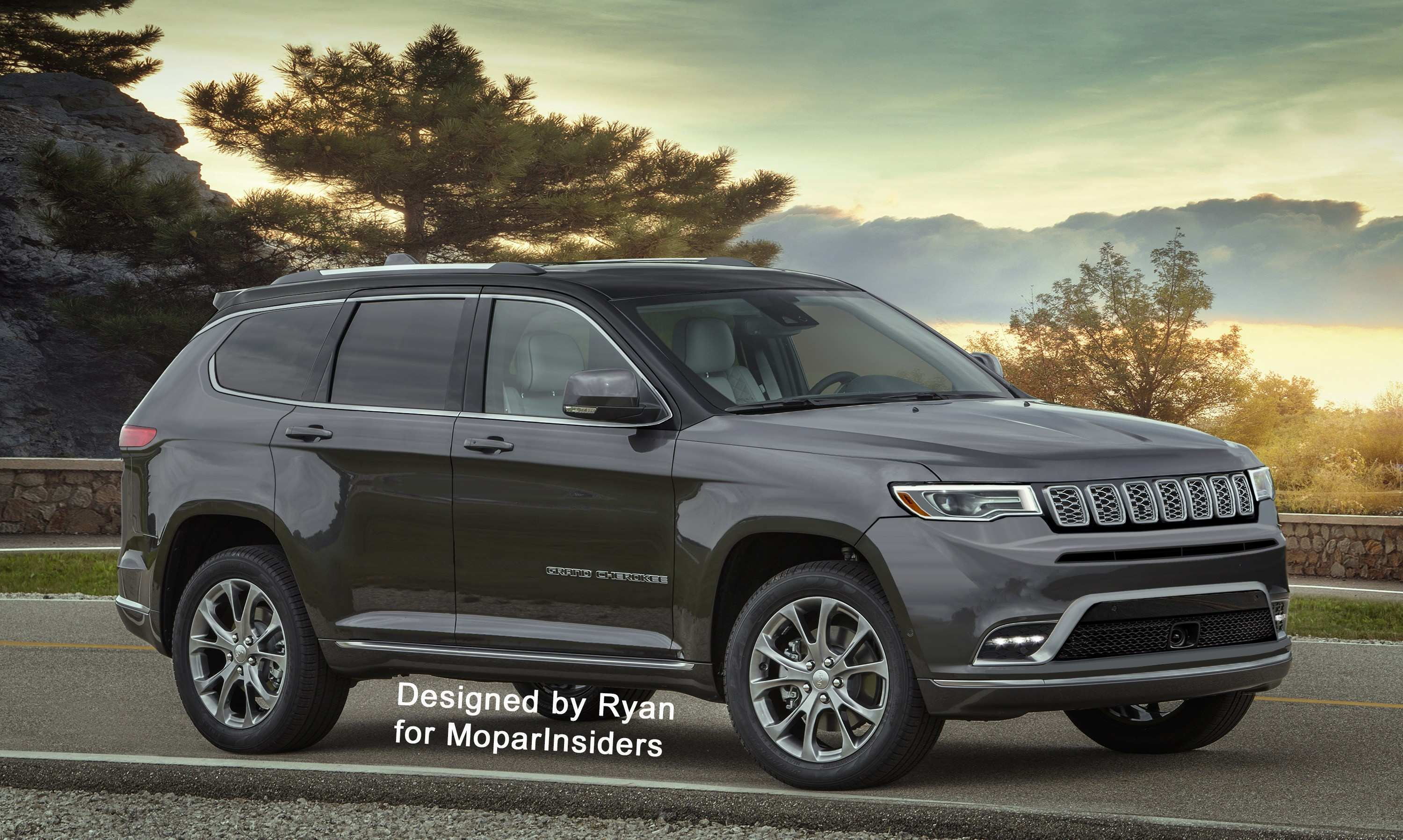 77 The Jeep Nuova Grand Cherokee 2020 Overview