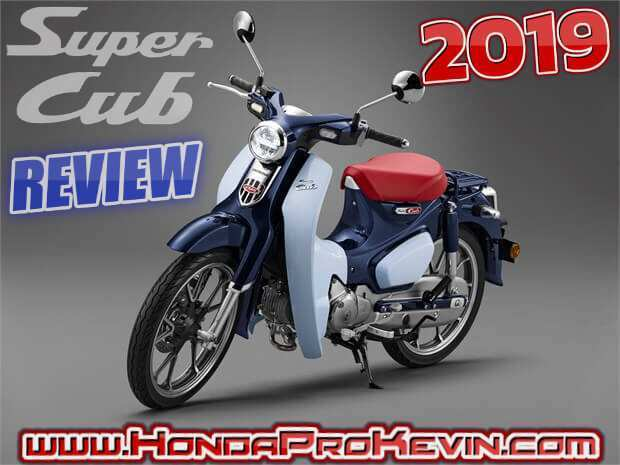 78 All New 2019 Honda 125 Cub Release Date And Concept