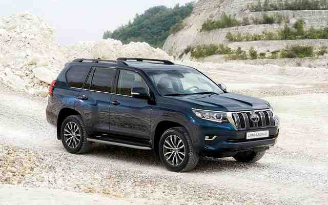 78 All New Toyota Prado 2020 Spy Shots Release Date And Concept