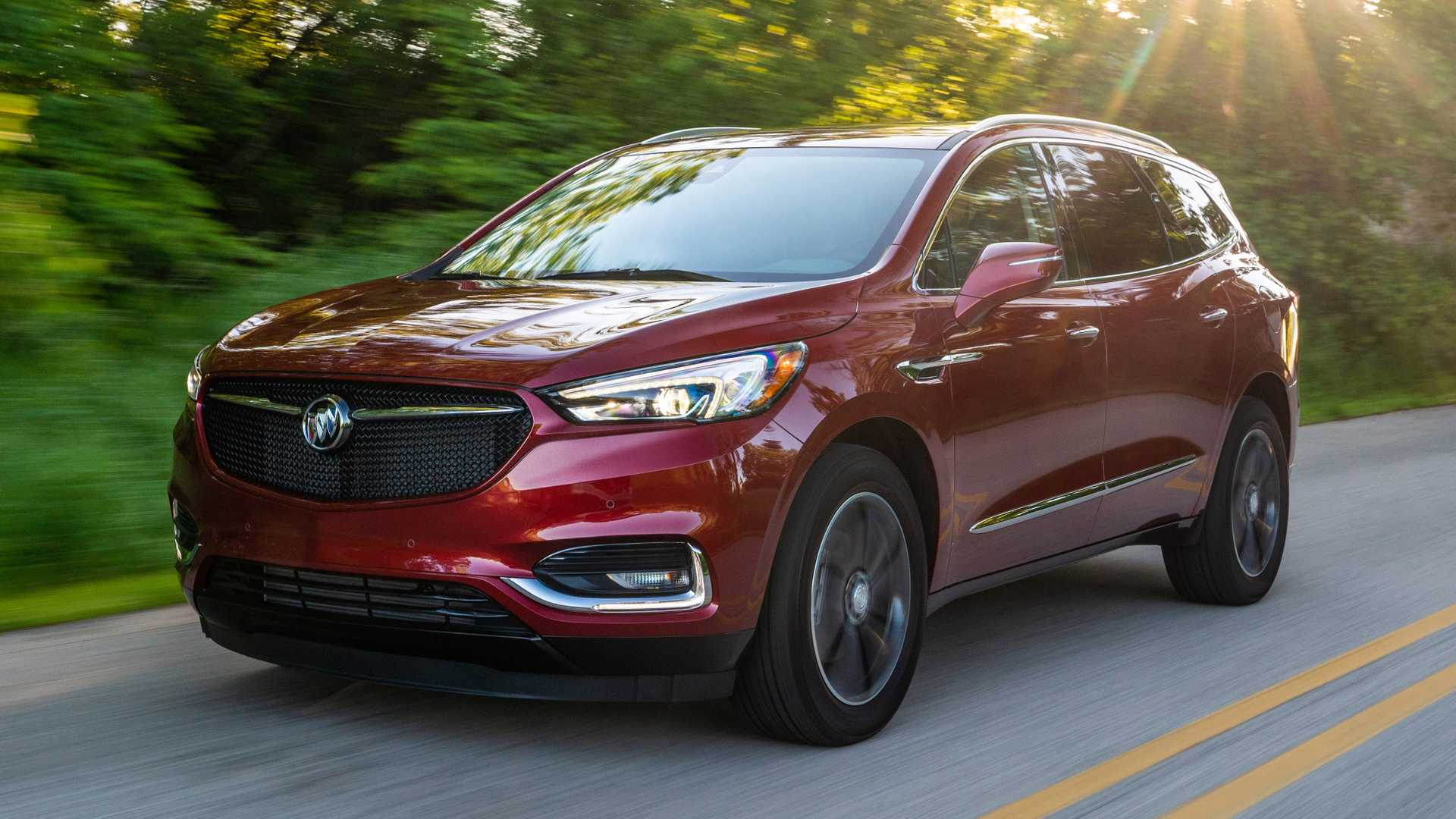 79 A 2020 Buick Suv First Drive