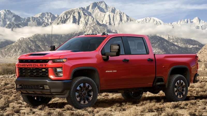 79 All New 2020 Chevrolet Pickup Truck Concept