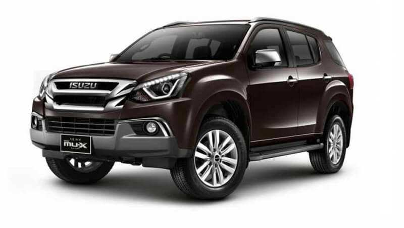 79 The 2019 Isuzu Mu X Specs