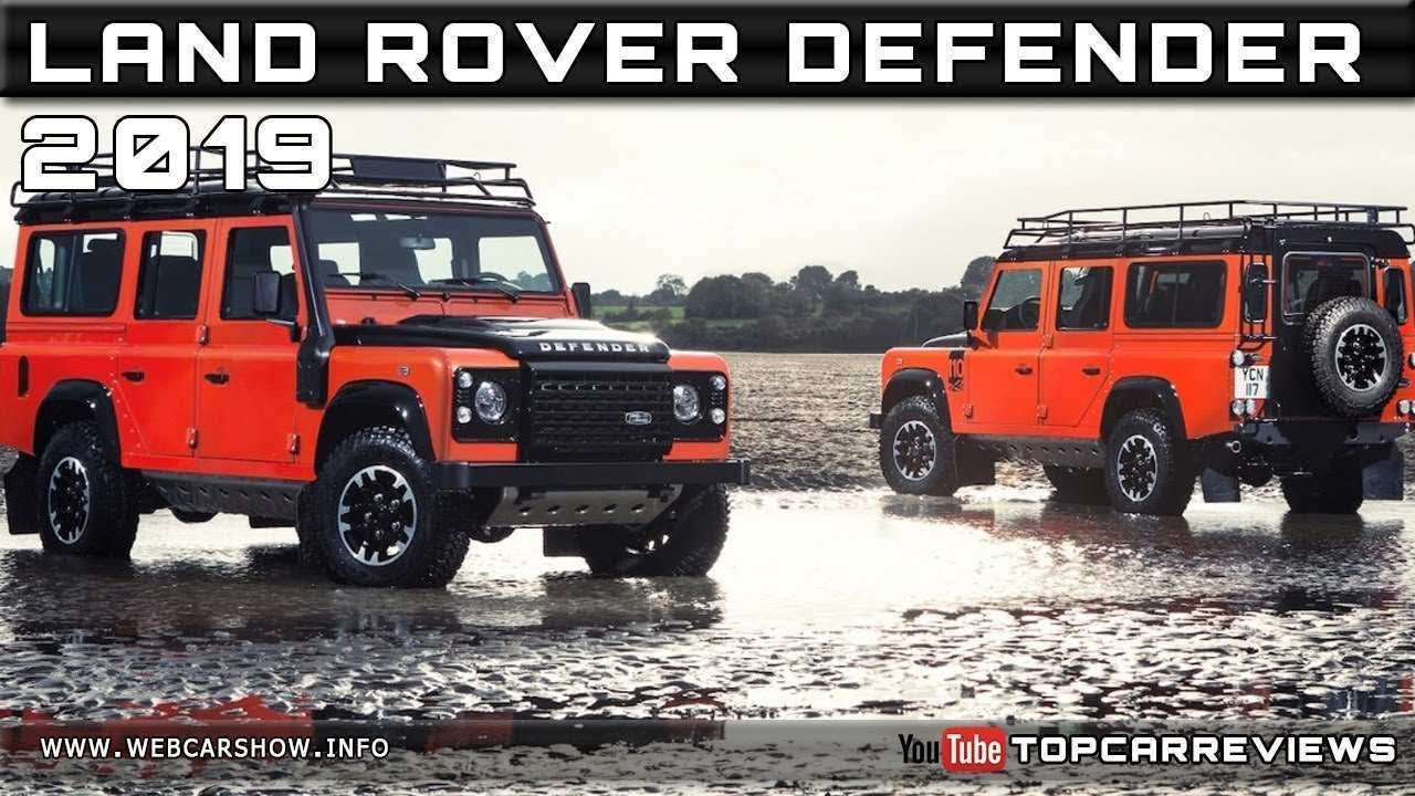 80 All New 2019 Land Rover Defender Price New Model And Performance