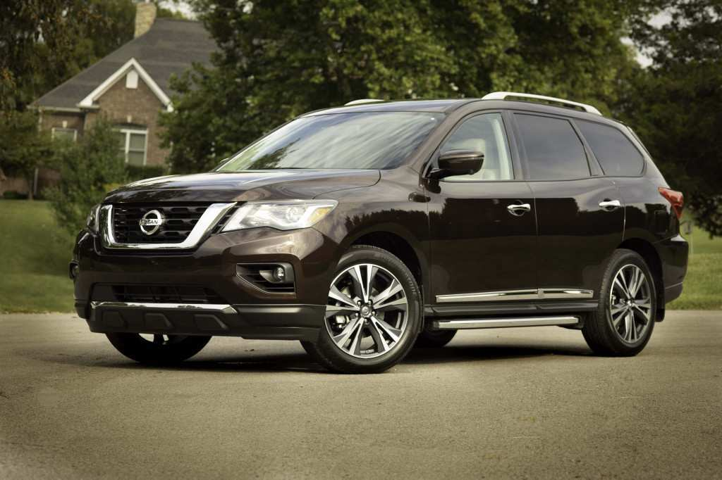 80 New 2019 Nissan Pathfinder Spy Shots Images