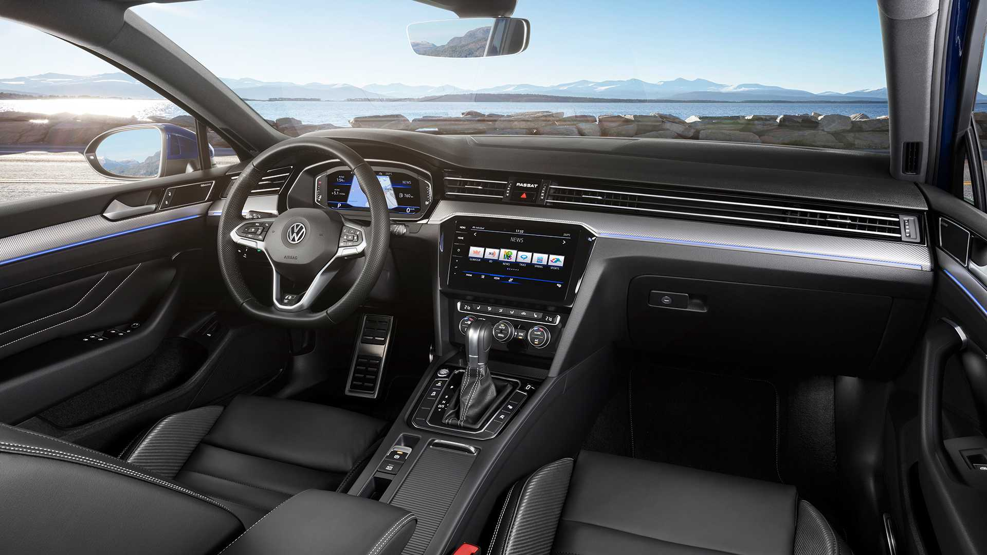 80 The 2019 Volkswagen Passat Interior First Drive