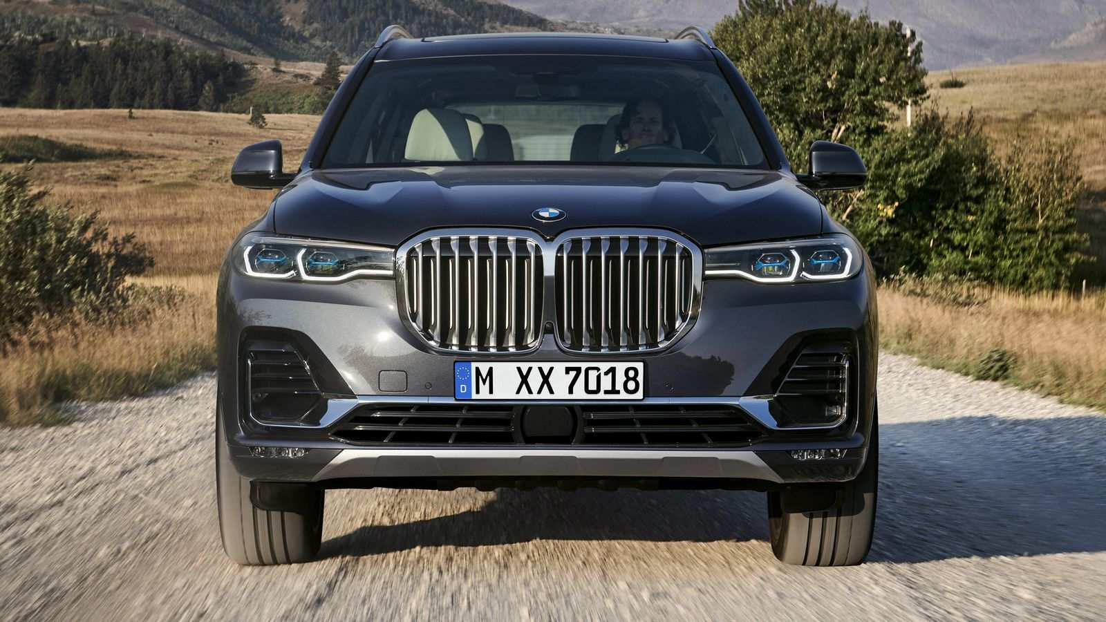 81 A 2019 Bmw Suv Spy Shoot