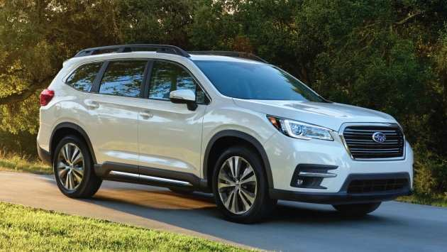 81 A 2019 Subaru Ascent Debut Redesign