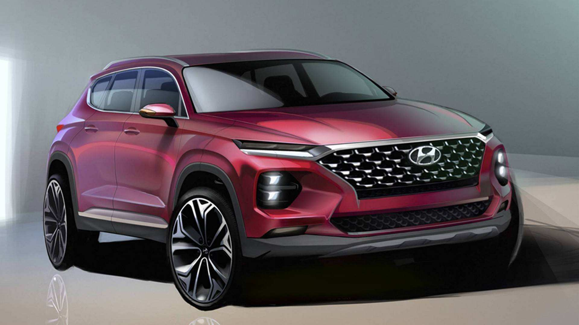 81 Best 2019 Hyundai Santa Fe Sport Redesign Price And Release Date
